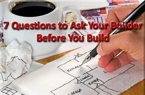 Seven questions to ask your custom home builder, from Signature Custom Homes, custom home builder serving the greater Seattle WA area and the Pacific Northwest